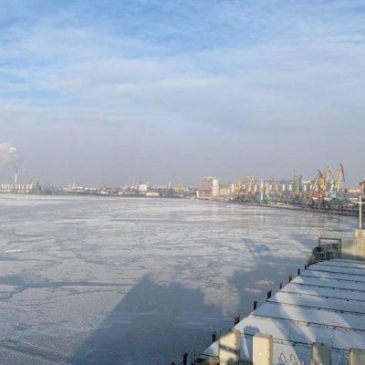 В Николаевском порту и на БДЛК объявлена ледовая кампания