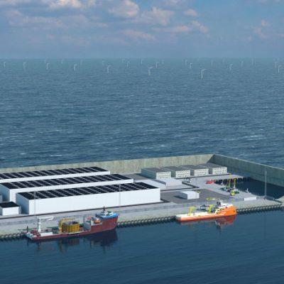 Дания построит «центр зеленой энергетики» на острове в Северном море