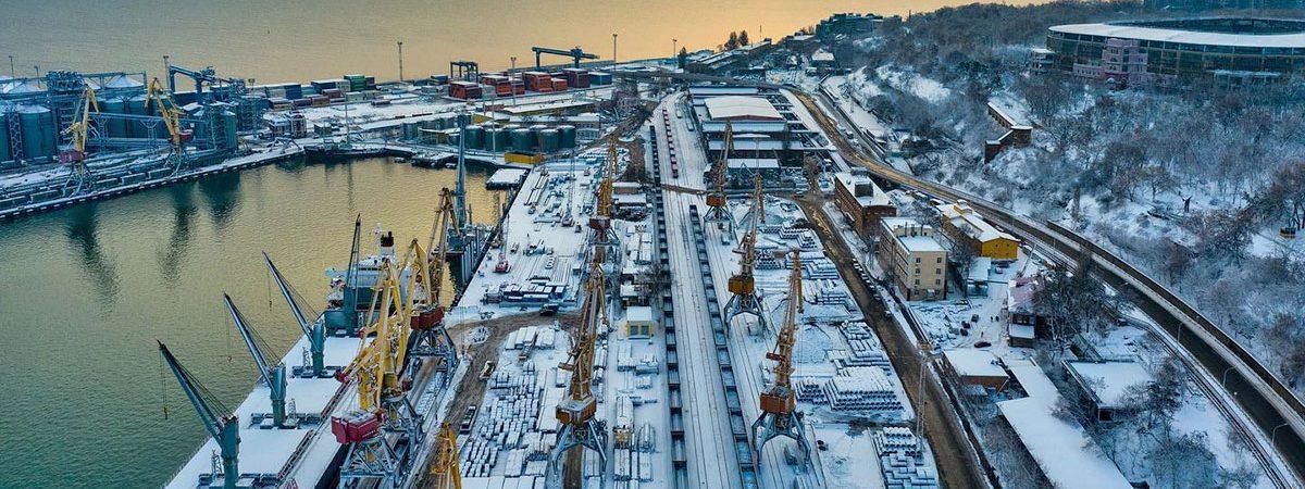 Порт Одесса сократил грузооборот на 23% в январе-феврале