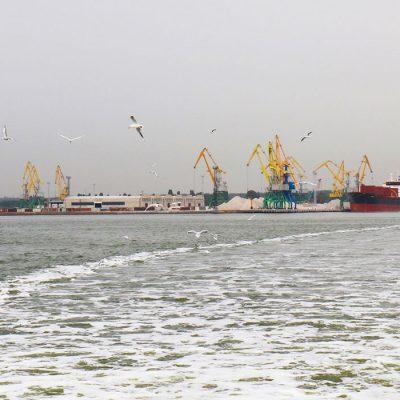 Порт «Ольвия» сократил грузооборот более чем вдвое в январе
