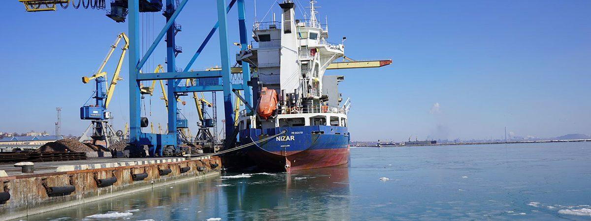 Порт Мариуполь сократил грузооборот на 5% в январе