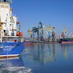 Морпорты сократили количество обработанных судов на 23% в январе