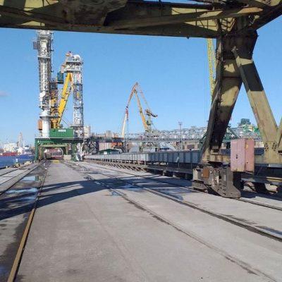 Порт Николаев сократил грузооборот на 24% в январе