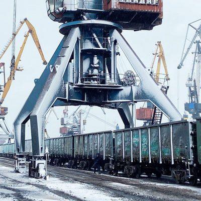 Госстивидор «Южный» обработал 600 тыс. тонн грузов с начала месяца