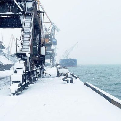 Порт «Пивденный» сократил грузооборот на 20% в январе