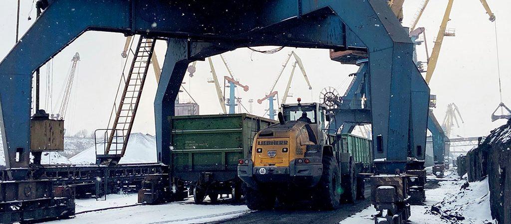 Госстивидор «Южный» обработал более 9 тыс. вагонов с начала месяца