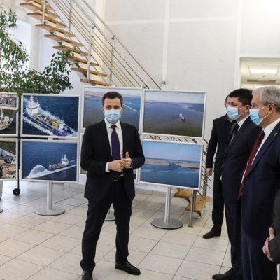 Руководители трех припортовых областей ознакомились с работой «Дельта-лоцман»