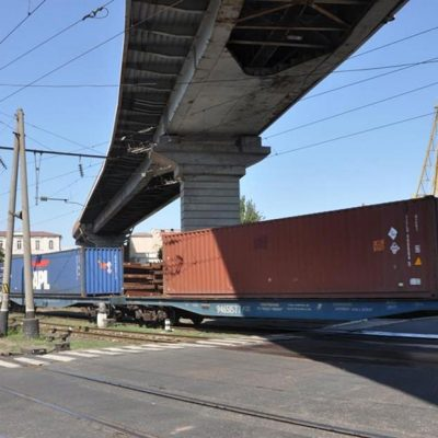Одесский порт перекроет железнодорожный переезд в связи с ремонтом