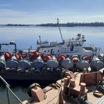«Госгидрография» установила сезонные буи на трех водохранилищах
