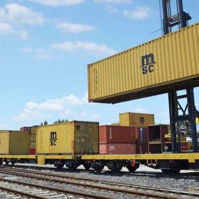 MSC запустила три регулярных ж/д маршрута по Украине