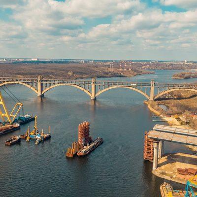 «Дельта-Лоцман» будет круглосуточно оповещать о ситуации возле строящегося Запорожского моста