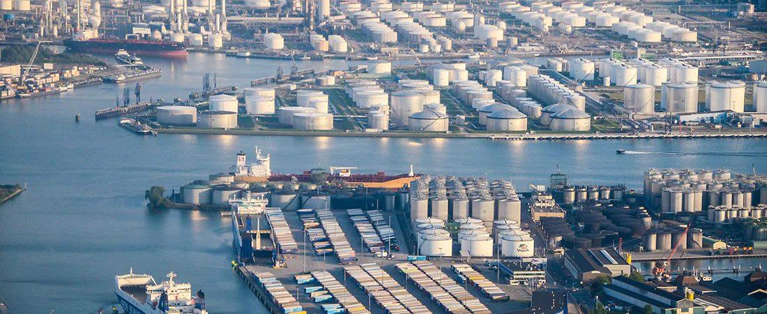 Порт Роттердам станет водородным хабом Европы
