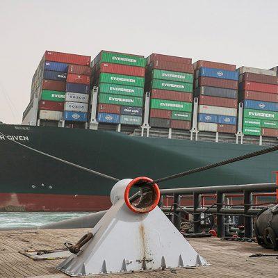 «Суэцкий кризис» спровоцировал ралли спотовых ставок на контейнеры