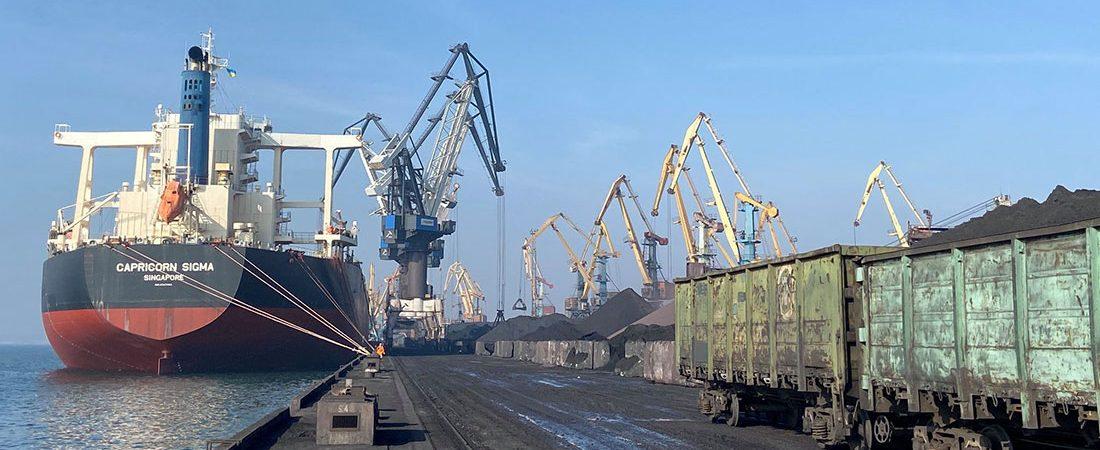 Судозаходы: пятерка крупнейших судов порта Пивденный в феврале