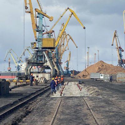 Госстивидор «Южный» отремонтирует пути на причале №7
