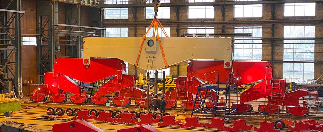 «Запорожкран» изготовит ходовую часть мегакрана для французской судоверфи