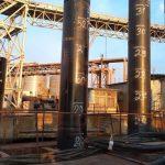 На строительстве двустороннего пирса «Рисоил Терминала» началось погружение свай