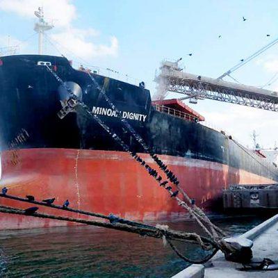 Судозаходы: пятерка крупнейших судов порта Черноморск в марте