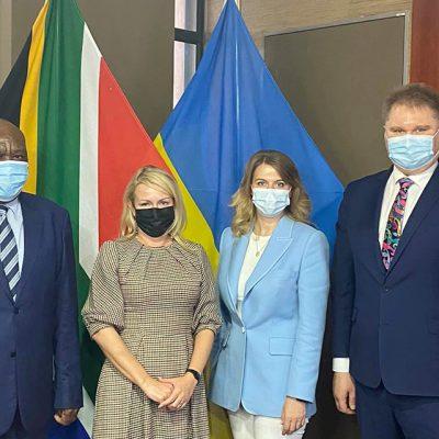 Украина заинтересована в развитии торгово-экономических отношений с ЮАР — Качка