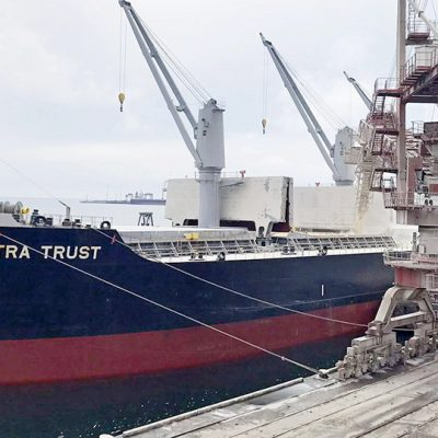 «Трансбалктерминал» обеспечил почти 50% перевалки зерновых в порту Черноморск за смену