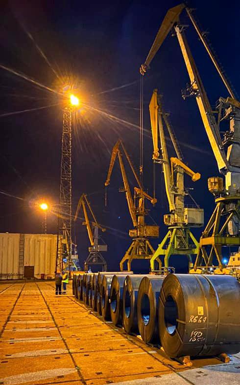 Госстивидор РМТП возобновил перевалку металла