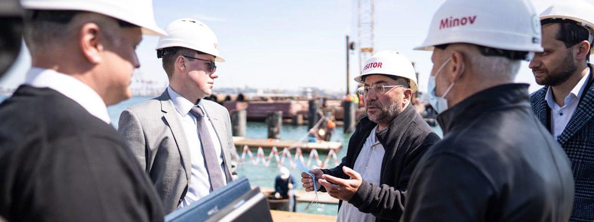UkraineInvest поддержит проект строительства двустороннего пирса в порту Черноморск