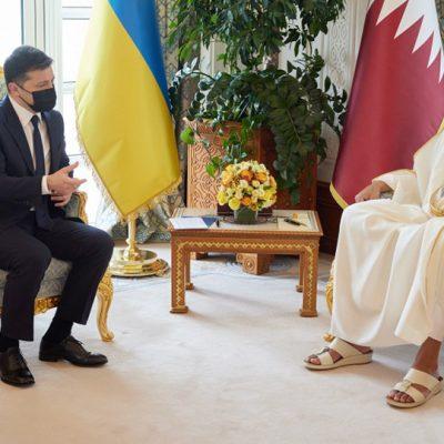 Зеленский рассчитывает на помощь Катара в модернизации украинских портов