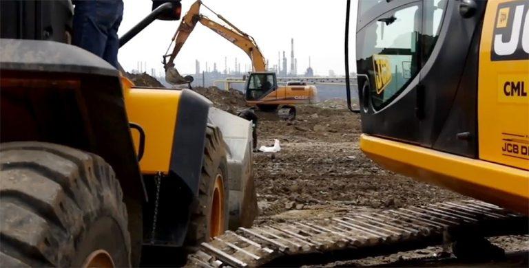 На строительстве дороги в Одесский порт начаты земляные работы