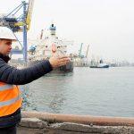 В порту Черноморск начался капитальный ремонт причала №2