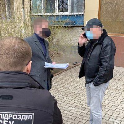 СБУ сообщила о подозрении бывшему руководителю ГП «ОМТП»