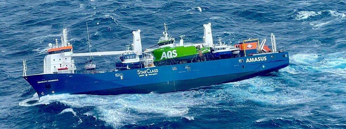 Попавшее в шторм нидерландское судно тонет у берегов Норвегии