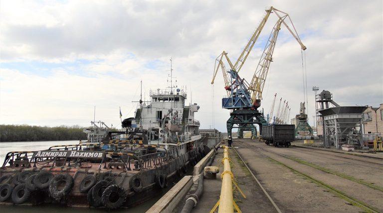 Порт Измаил увеличил грузооборот на 7% в первом полугодии