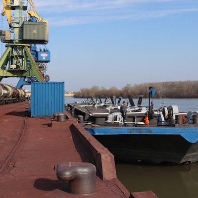 Госстивидор ИЗМ МТП отгрузил в Румынию партию азотных удобрений