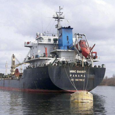 Судозаходы: топ-суда Херсонского порта в марте