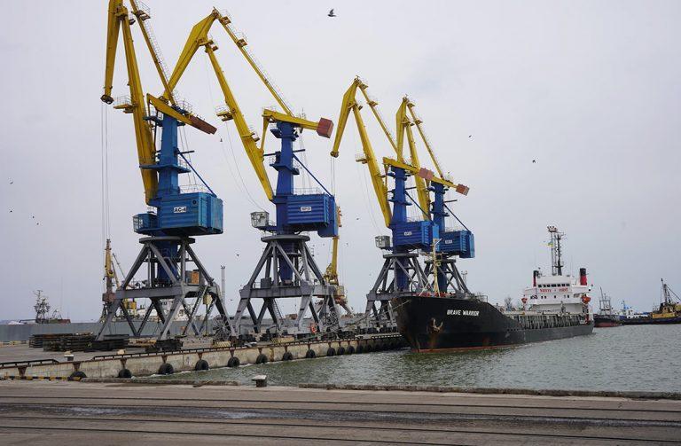 Госстивидор ММТП обработал 180 тыс. тонн грузов с начала месяца
