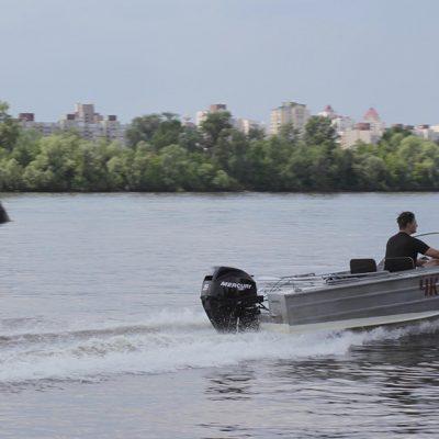 В Киевской области открылась навигация маломерных судов