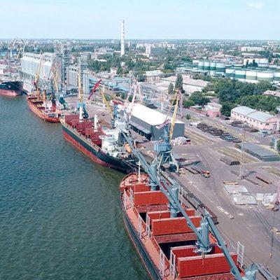 Порт Николаев сократил грузооборот на 24% в первом квартале