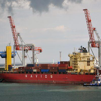Морпорты сократили контейнерооборот на 5% в первом квартале