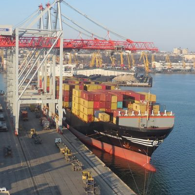 Контейнерные операторы Одесского порта увеличили перевалку на 2% в первом квартале