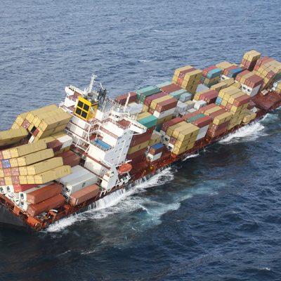 Убытки от потери контейнеров в море превысили $54 млн с начала 2021 года