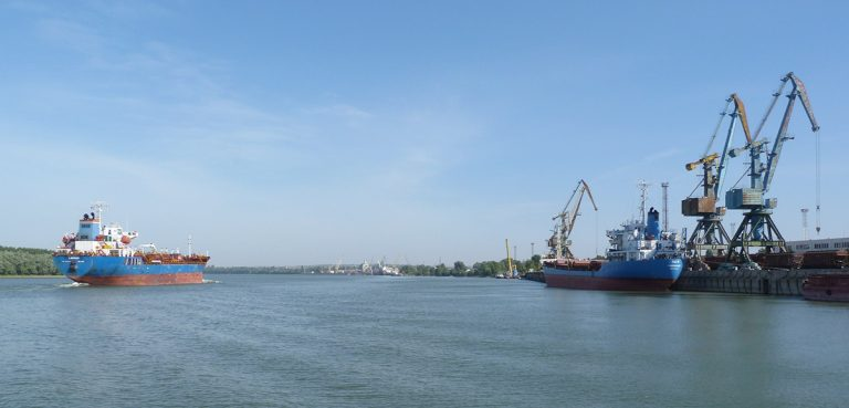 Комплекс перевалки сжиженного газа в порту Рени вернулся в госсобственность