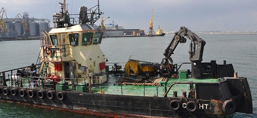 АМПУ очистила морское дно на месте аварии танкера Delfi