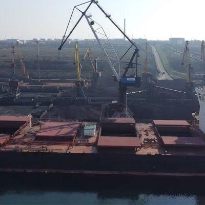 Госстивидор «Южный» установил рекорд интенсивности загрузки крупнотоннажного судна