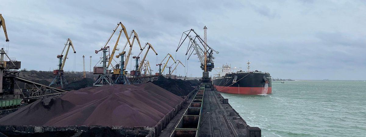 Морпорты сократили грузооборот на 18% в январе-мае