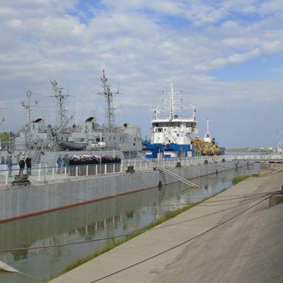 Измаильский порт принял учебные катера ВМС