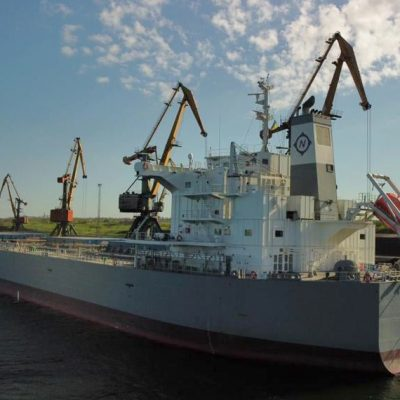 Порт «Пивденный» обработал первое судно с австралийской канолой для Allseeds