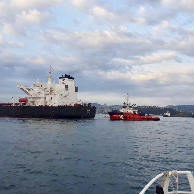 Движение судов по проливу Босфор приостанавливали из-за аварии
