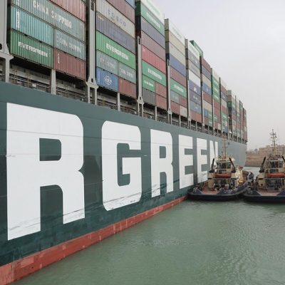 Египетский суд отказал в освобождении блокировавшего Суэцкий канал контейнеровоза до уплаты штрафа