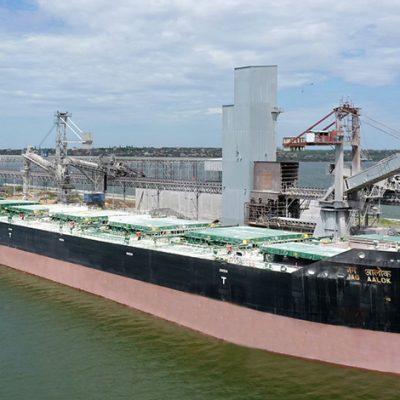 «Ника-Тера» побила собственный рекорд суточной погрузки на судно