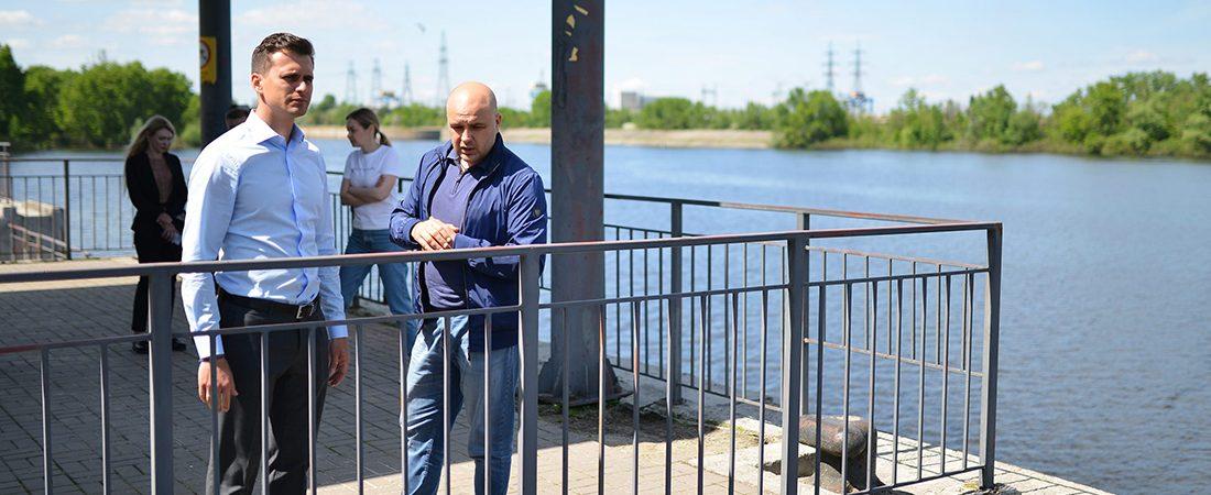 Речной порт Канева возобновит работу после одиннадцатилетнего простоя